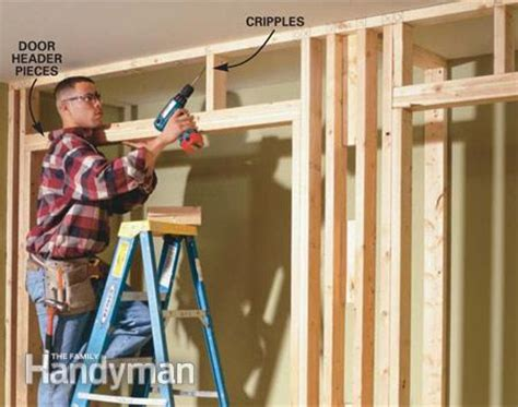 how to build a closet in a room with no closet how to build a wall to wall closet the family handyman