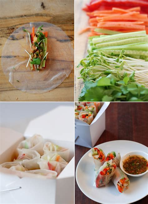 How To Make Rice Paper Wraps - rice paper rolls