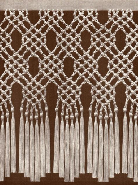 macrame curtain pattern 17 best images about macrame weavings on pinterest