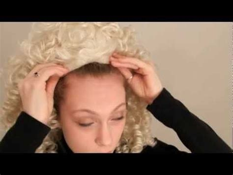 how to put on a irish dance wig french braids how to put on an irish dancing wig just dance