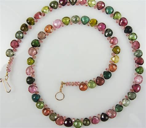jewelry make tourmaline bead choker by gail maas