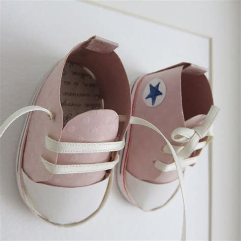 How To Make A Shoe With Paper - frankie i paper shoes nursery picture