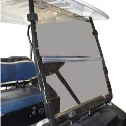 recpro club car ds tinted golf cart windshield 00 5 up