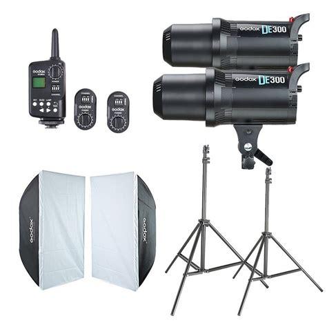 Trigger Soft Box aliexpress buy 2x godox de300 studio flash 60x90cm softbox ft 16 trigger light stand
