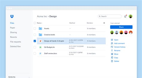 dropbox redesign dropbox redesigns its ui for higher ux bevel interactive