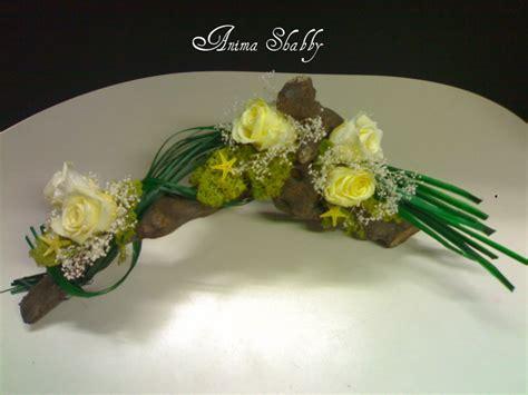 fiori stabilizzati come fare anima shabby composizioni di fiori stabilizzati