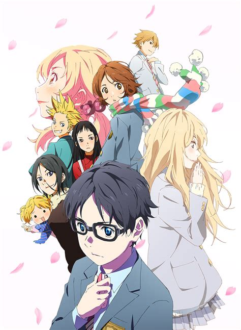 shigatsu wa kimi no uso episode 22 preview images