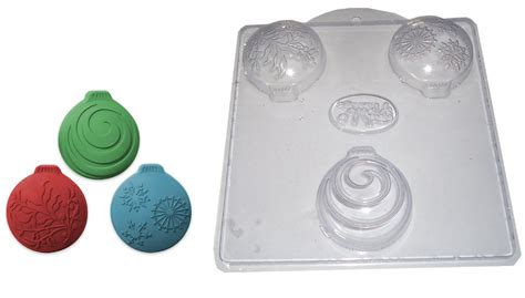 christmas ornaments soap mold 3 on 1
