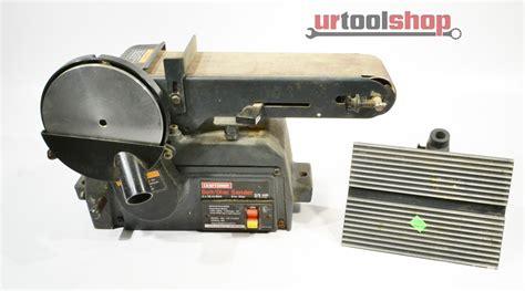 Craftsman 137 215360 Belt Disc Sander 2611 14 Ebay