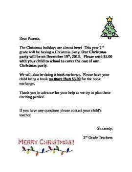 christmas party letter talented teacher teachers pay