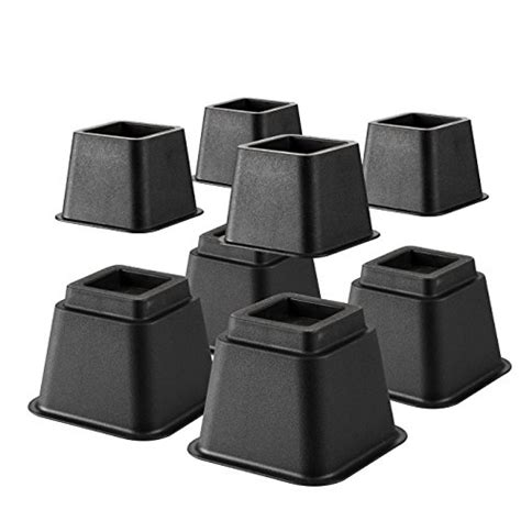 heavy duty bed risers define essentials heavy duty multi height bed risers and