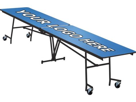stow away folding rectangular cafeteria table 10 folding