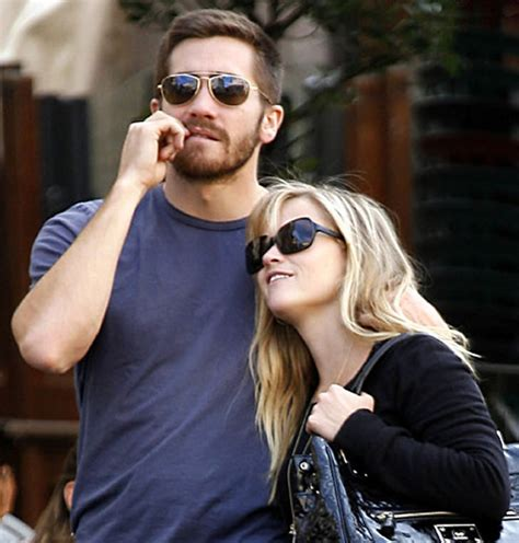 So Are Reese Witherspoon And Jake Gyllenhaal Going Out by Jake Gyllenhaal Sunglasses Prince Of Sands Of