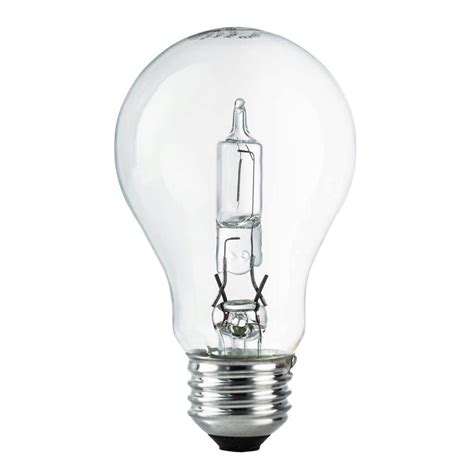 Lu Philips Helix 52 Watt ecosmart 60w equivalent eco incandescent a19 clear