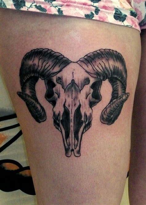 ram skull tattoo meaning ram skull tattoos ram skull