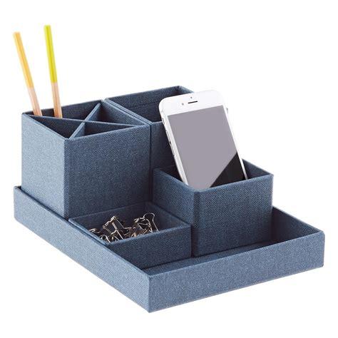 container store desk organizer bigso marten navy stockholm desktop organizer the