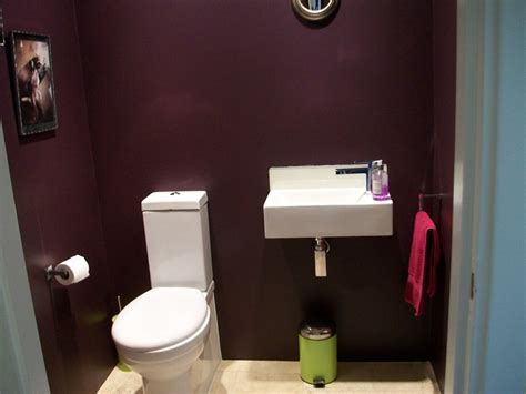 bathroom paint quot pelt quot aubergine in modern emulsion from farrow in my cloakroom