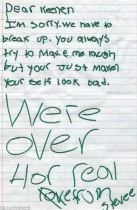 breakup letter funniest ways to dump your partner by letter i m