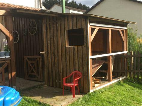 huehnerstall selber bauen huehnerhaus mit freigehege auslauf