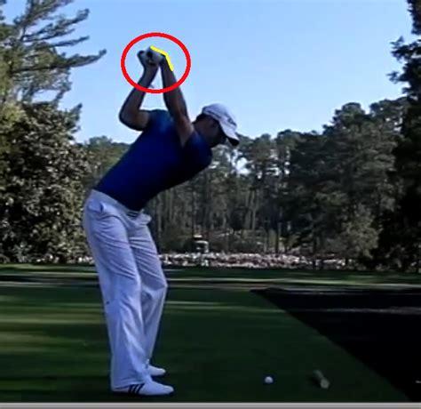 bowed left wrist golf swing hogan s quot secret quot hinged left wrist instruction and