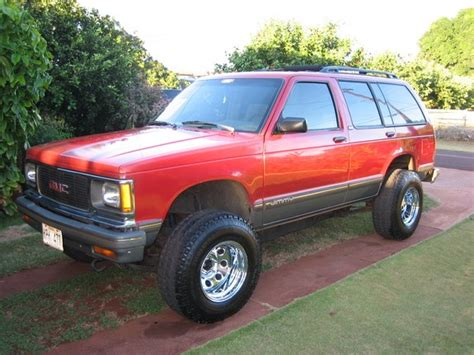 gmc jimmy 1994 west side ryda 1994 gmc jimmy specs photos modification