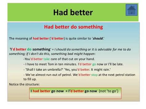 had better do uses of quot had better do something quot and quot had better not do
