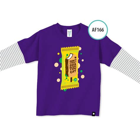 Kaos Anak Muslim Afrakids Af119 Ukuran M kaos anak muslim afrakids afra af166 don t forget do a before you eat jual kaos anak