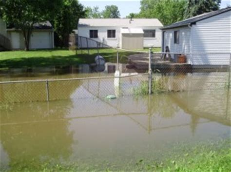 backyard flooding problems yard drainage solutions weinstein retrofitting systems