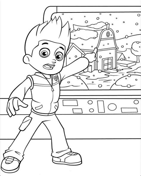 paw patrol pups coloring pages free coloring pages of paw patrol pup