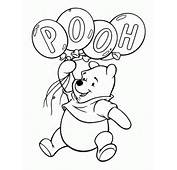 FUN &amp LEARN  Free Worksheets For Kid Winnie The Pooh Coloring Pages