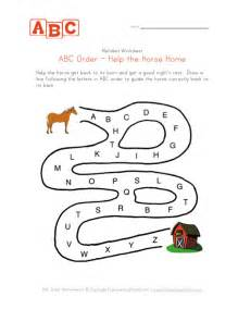 abc order maze kids learning station