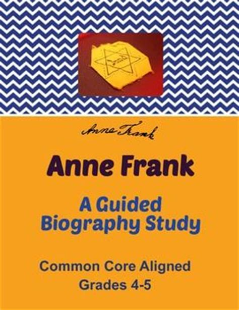 anne frank biography for students anne frank biography and activities for students on pinterest