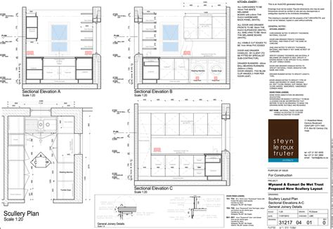 House De Wet Bathroom Layouts A3 Landscape Sheet Print A2 House Plans With Scullery Kitchen