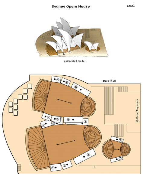 Cut Out And Make Paper Models - paper toys free cut out models of landmarks