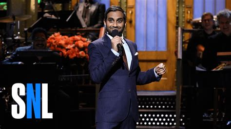 kode spoof host video max aziz ansari stand up monologue snl youtube