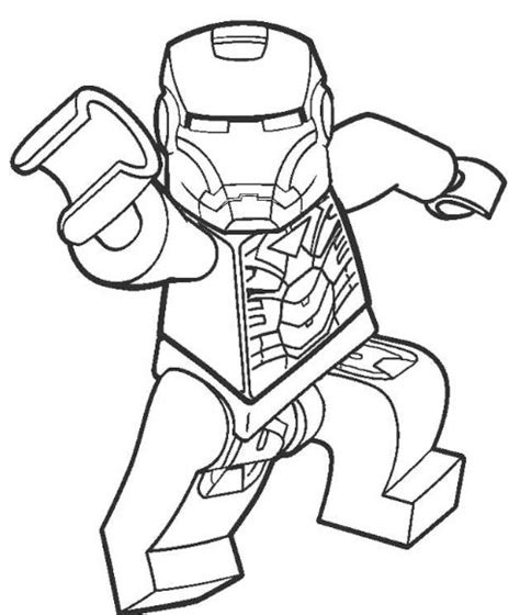 lego guy coloring pages lego iron man coloring page drawing board weekly