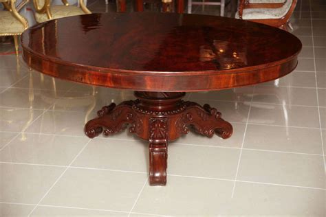 dining table center william iv mahogany center dining table for sale at 1stdibs