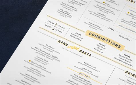 designspiration menu macaroni grill typefaces graphic design forum