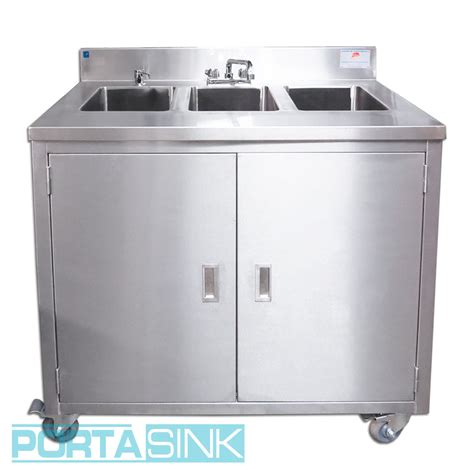 portable 3 compartment sink portable sink 3 compartments portable sink