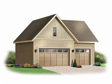 3 Car Garage Plans With Loft by 3 Car Garage Plans Three Car Garage Loft Plan 028g