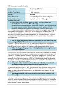 Business Case Template For Additional Staff West Somerset Business Case Study
