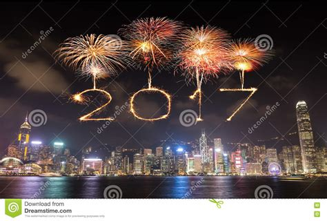 new year hong kong 2017 happy new year fireworks celebrating hong kong
