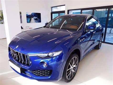 maserati levante blue maserati levante emozione mpsg predaj luxusn 253 ch 225 ut