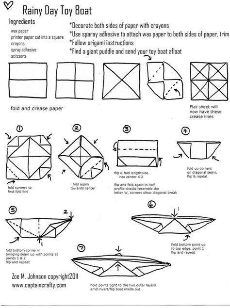 origami anchor tutorial toys origami and the o jays on pinterest