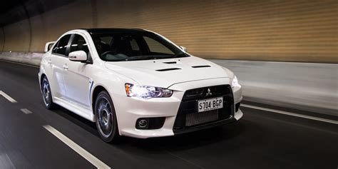 lancer mitsubishi 2016 mitsubishi lancer evolution x review final edition