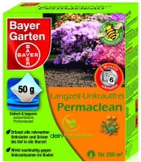 Bayer Garten Langzeit Unkrautfrei Permaclean by Unkrautvernichter Und Glyphosat Ohne Sachkunde Bestellen