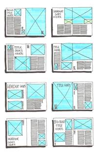 grid layout sketches on pinterest magazine layouts
