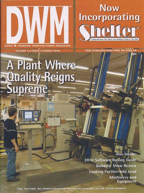 Window And Door Magazine by Seaway Window 187 Proud To Be Made In Erie