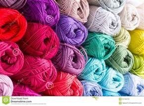 colorful yarns colorful skeins of yarn stock image image 31794731