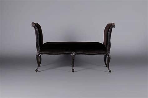 sleigh bench seat louis moulin noir sleigh bench seat sofas furniture on